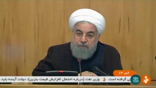 """روحاني: """"سنرد على أي انتهاك لإتفاق النووي من طرف العدو"""""""