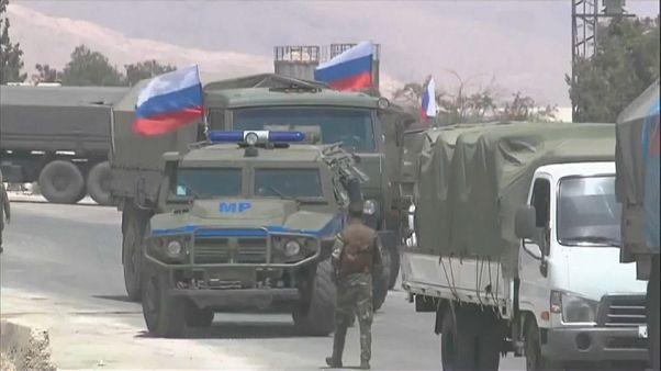Россия доставила первую гумпомощь в зону деэскалации