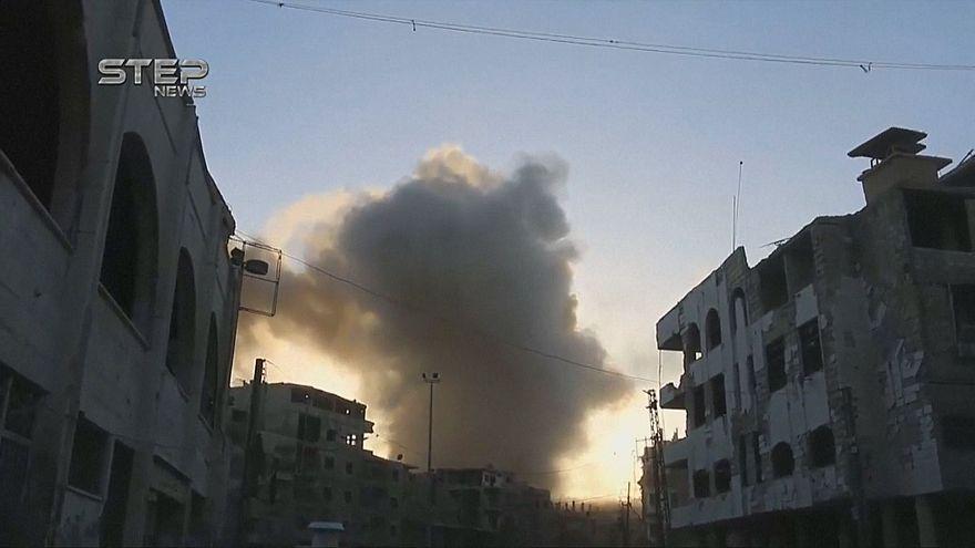 Взрыв в пригороде Дамаска