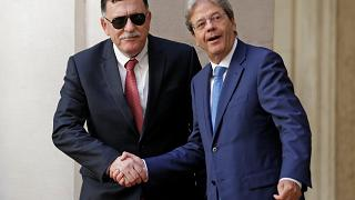 Al-Sarraj da Gentiloni: ''Sui migranti l'Italia aiuti con le sue navi''
