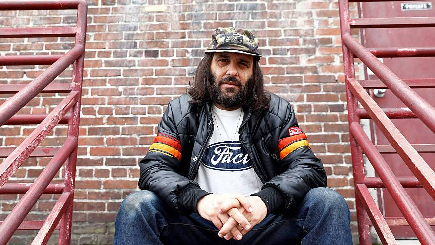 Image: Erik Brunetti, Los Angeles artist and streetwear designer of the clo