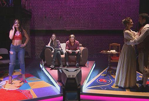 La vacuité Kim Kardashian sur un air d'opéra