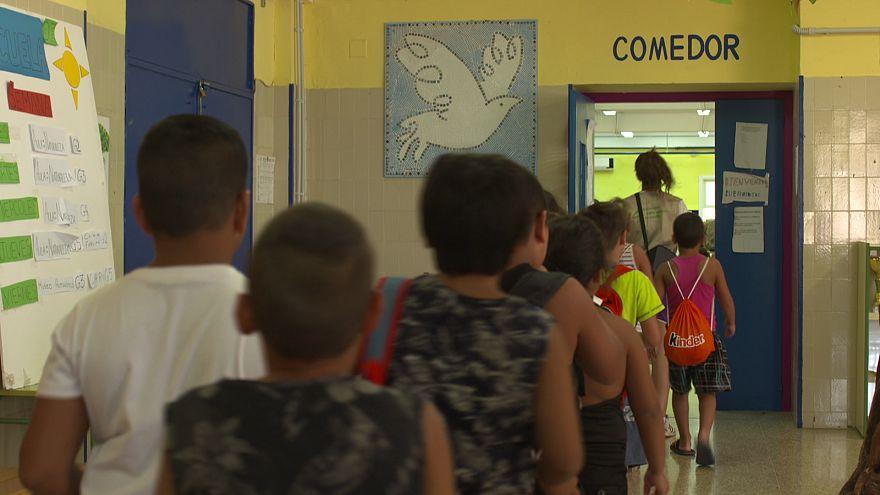 İspanya'da yoksulluk en çok çocukları etkiliyor