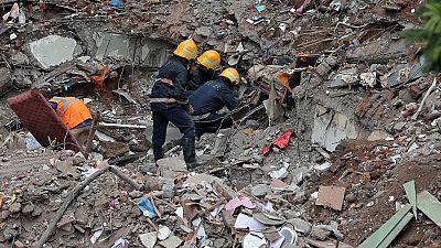 Nigeria : huit morts dans l'effondrement d'un immeuble à Lagos