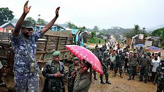 Wanted Congolese warlord surrenders to U.N. forces