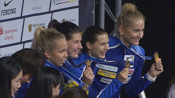 Fencing: Italy and Estonia take final golds in Leipzig