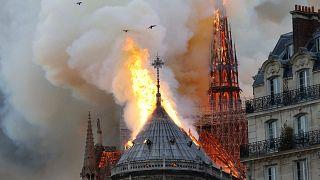 Image: TOPSHOT-FRANCE-FIRE-NOTRE DAME