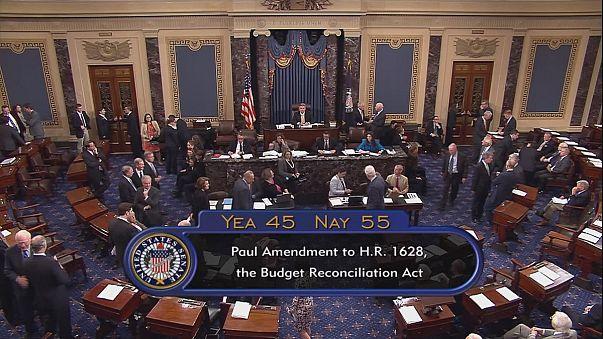 Repubblicani sotto al senato sull'Obamacare