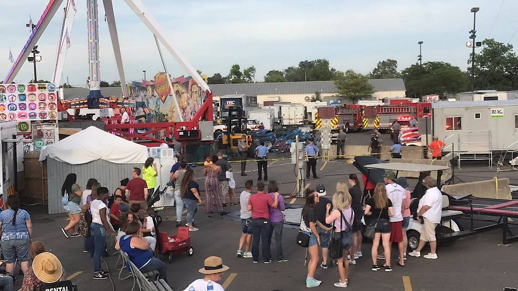 USA: One dead, several hurt in Ohio fairground accident