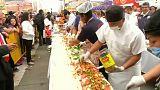 La torta pantagruélica de los mexicanos