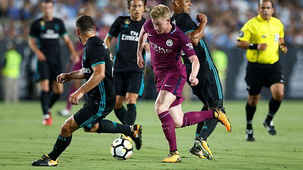 """Manchester City """"atropela"""" (4-1) Real Madrid em Los Angeles"""