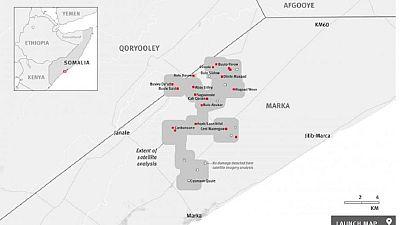 Somalie: Al-Shabab a incendié plusieurs maisons dans certains villages en 2017, selon HRW