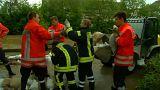 Hochwasser in Deutschland: Lage entspannt sich