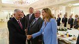Başbakan Binali Yıldırım Alman şirket yöneticileriyle buluştu