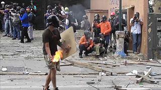 16-Jähriger stirbt bei Protest in Caracas