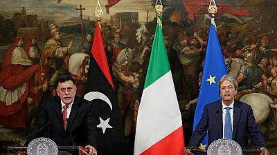 Italy to deploy ships in Libyan waters by August to fight human trafficking
