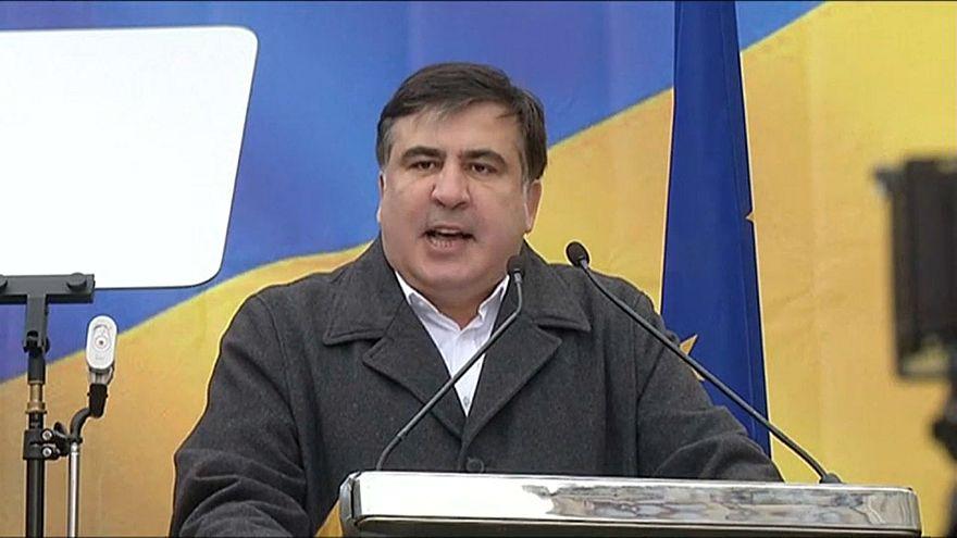 Саакашвили хочет на Украину