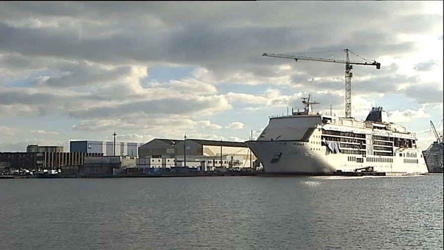 L'Etat français nationalise temporairement les chantiers navals STX