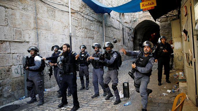 Столкновения на Храмовой горе в Иерусалиме