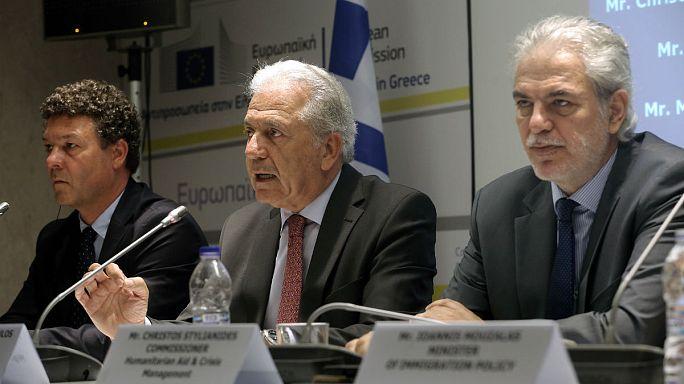 Comissão Europeia ajuda Atenas com fundos para refugiados no país