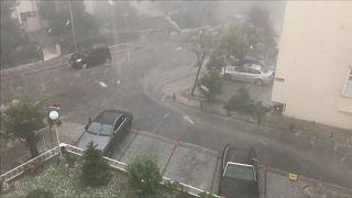 Tempestade paralisa Istambul
