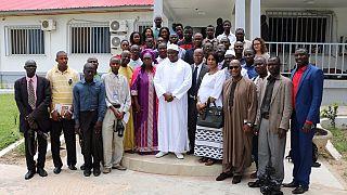 """Gambie : le nouveau président juge les menaces """"exagérées"""""""