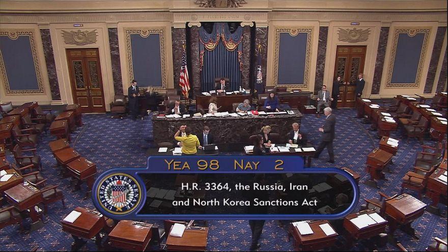 El Senado estadounidense aprueba nuevas sanciones contra Rusia pese a las objeciones de la Administración Trump