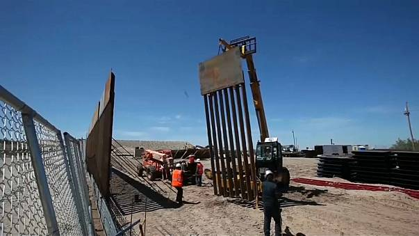US-Haushaltsentwurf: 1,6 Milliarden Dollar für Mauer zu Mexiko