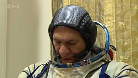 Veteran astronaut blasts into space for third time