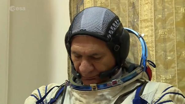 Jour J pour l'astronaute Paolo Nespoli