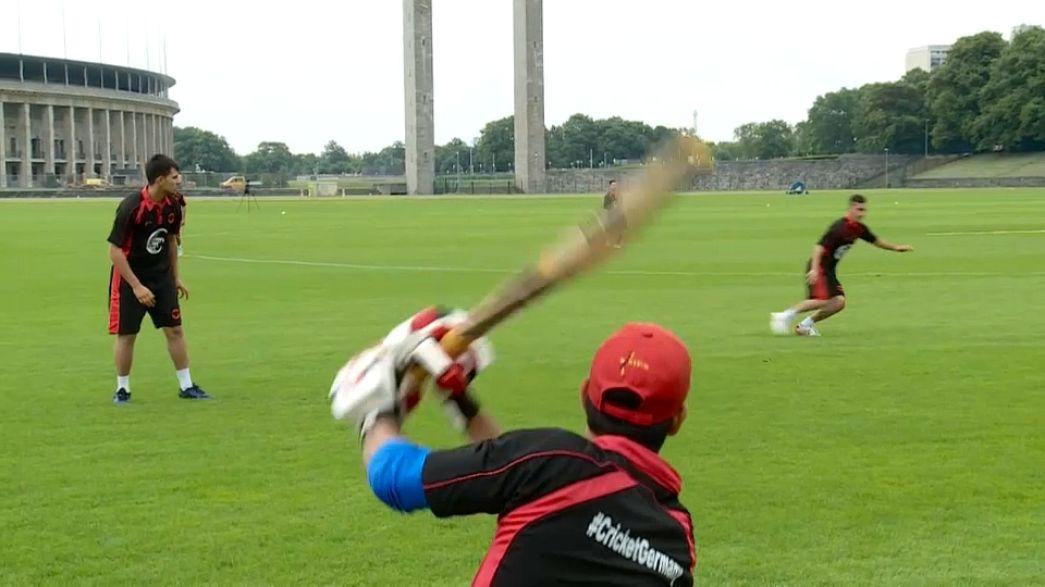 Рост популярности крикета в Германии
