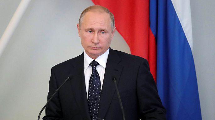 بوتين يرد على العقوبات الأمريكية