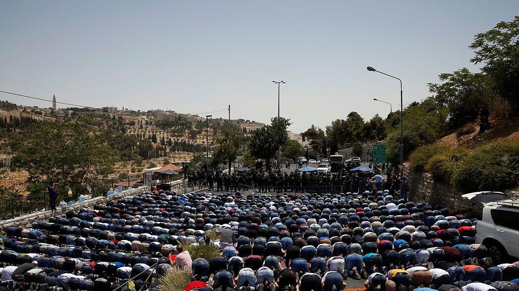 Иерусалим: пятничная молитва завешилась без серьёзных инцидентов