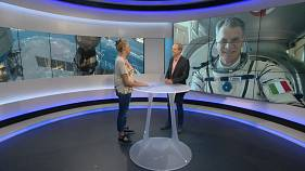 """60-year-old Italian astronaut: """"He's in great condition!"""""""