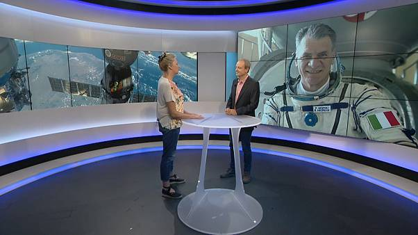 "60-year-old Italian astronaut: ""He's in great condition!"""