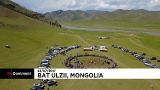 Фестиваль яков в Монголии