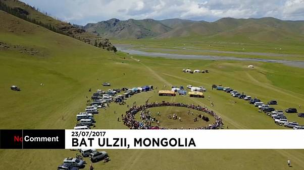 Hundred's head to Mongolia's Yak festival