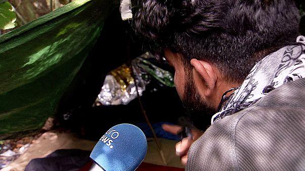 """يورونيوز تستطلع الوضع المزري بمخيم اللاجئين ب""""كاليه"""""""