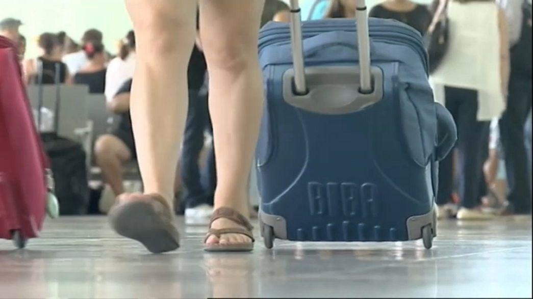 Hosszú várakozás a repülőtereken