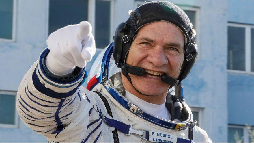 مسن ترین فضانورد اروپایی راهی ایستگاه بین المللی شد