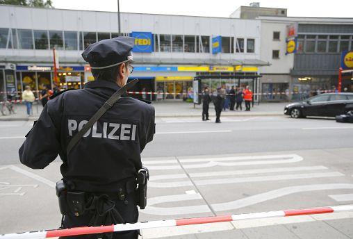 One dead after knife attack in German supermarket