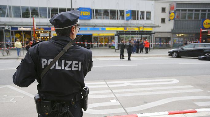 Almanya'nın Hamburg şehrinde bıçaklı saldırı