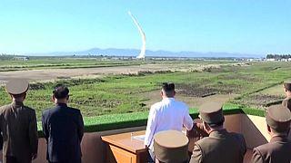 Menace de riposte militaire après un nouveau tir de missile de Pyongyang