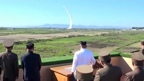 موشک بالستیک کره شمالی در آبهای منطقه ویژه تجاری ژاپن فرود آمد