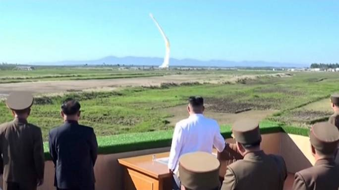Japan says North Korean missile may have landed off its coast