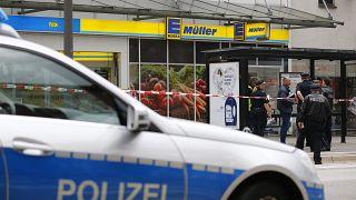 Imágenes exclusivas de la detención del atacante de Hamburgo