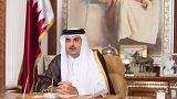 ما صحة تطليق أمير قطر لزوجته عقب نشرها صورته عاري الصدر؟