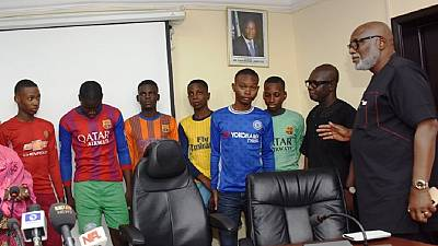 Nigeria's Lagos State secures freedom of 6 school boys kidnapped in May