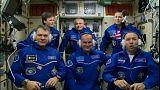 ثلاثة رواد فضاء يصلون إلى محطة الفضاء الدولية