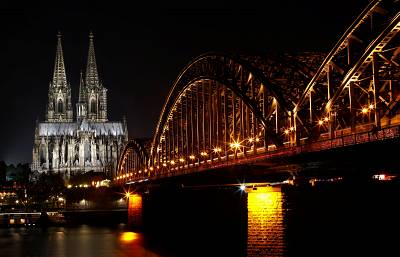 Cologne Cathedral is a UNESCO World Heritage Site.